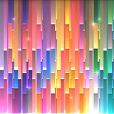 Bright paper stripes abstract vector background