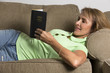 Christian Womand Reading The Holy Bible