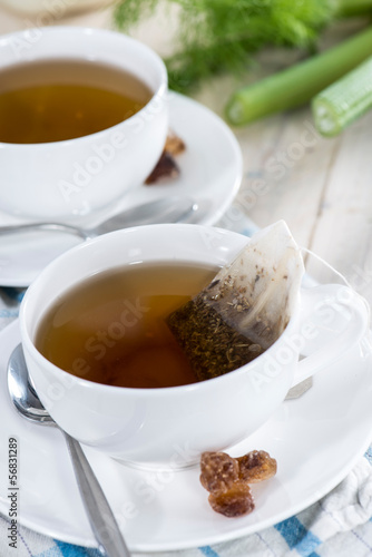 Homemade Fennel Tea