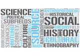 Outline of anthropology Word Cloud Concept
