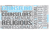 Pastoral counseling Word Cloud Concept