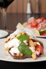 Greek Gyro Pita Wrap