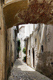 Alley with arch in Croatia