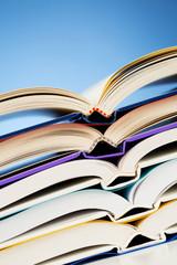 Closeup of Open Books
