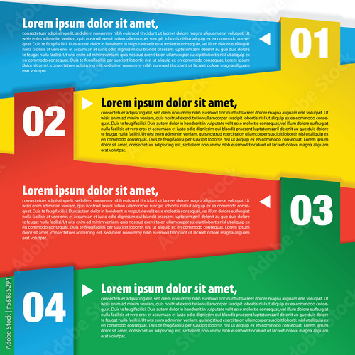 Colorful banner template vector.EPS10|56835294