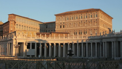 Pope's house, Rome