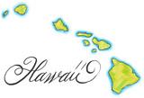 Hawaii map - 56836289