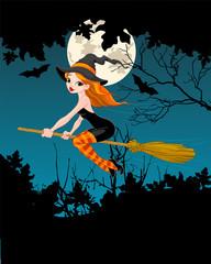 Halloween Witch banner