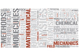 Theoretical chemistry Word Cloud Concept