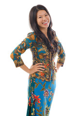 Asian woman in Kebaya