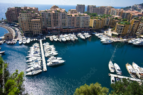 canvas print picture Monaco