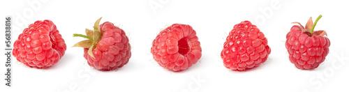 Fotobehang Vruchten raspberries