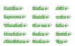 Online Shop Button grün