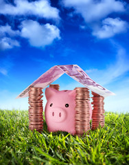put your savings safe - Savings under the serenity sky