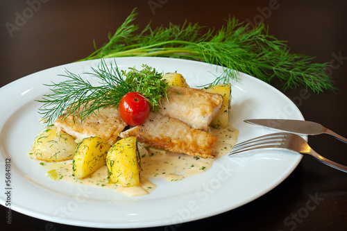 Buntbarschfilet