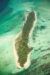 Insel auf den Malediven