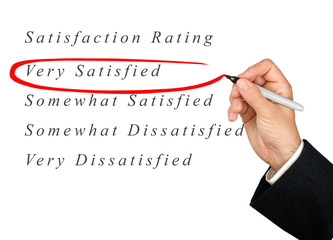 satisfaction rating