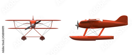 Retro Float Plane