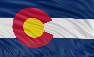 3D Colorado Flag