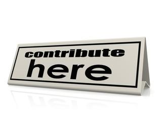 Contribute here