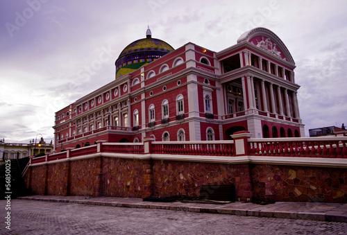 Amazon theatre in Manaus, Brazil