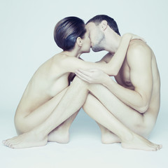 Young sensual couple