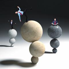 business acrobat