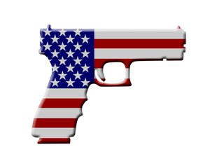 Handgun weapon in the USA