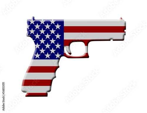 Handgun weapon in the USA