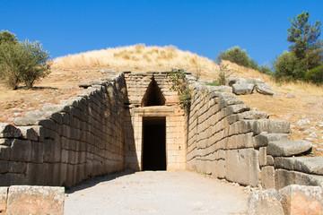Schatzhaus des Atreus, Mykene, Griechenland