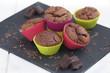 muffins au chocolat en moule 1