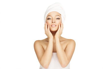 beauty, youth and skin care.
