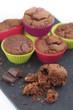 muffins au chocolat en miettes 4