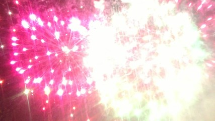feu d' artifice