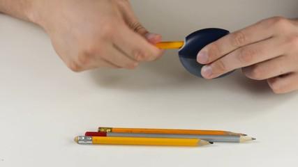 Testing pencil sharpener
