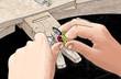 Jeweler hands