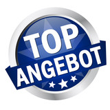 "Button mit Banner "" TOP ANGEBOT """