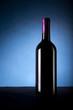 Bottiglia di vino rosso