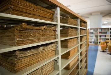 old vintage files