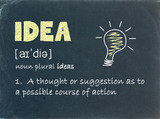 IDEA Definition on Blackboard (concept design solutions)