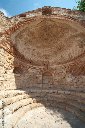 Bulgaria. Dome of the ancient cathedral in Nessebar