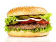 canvas print picture - Hamburger