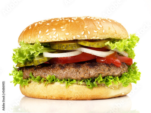 canvas print picture Hamburger