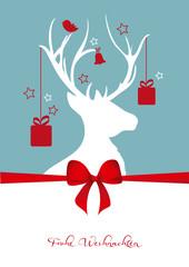 Weihnachtliche Grußkarte