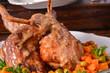 Roast rabbit