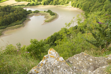 River Wye at Wintour's Leap.