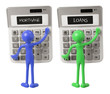 Calculators and Miniature Figures