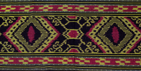 Iban traditional fabric also known as pua kumbu.
