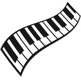 Piano Keys Pattern