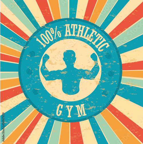 gym label